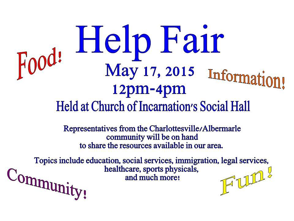 help fair
