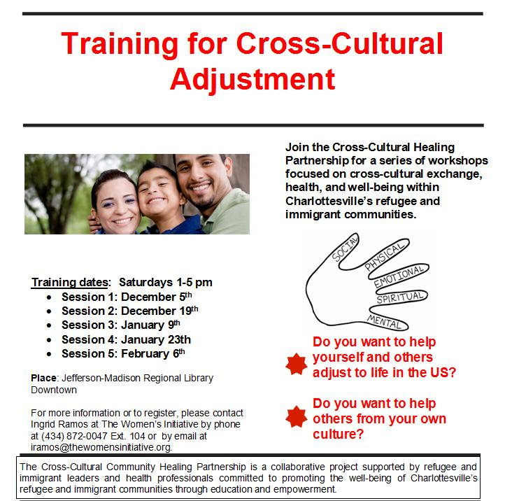 training for cross cultural