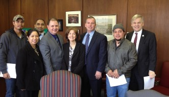 Immigrant Advocacy Day was held on January 28th