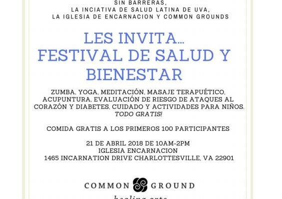 April 21st: Festival De Salud Y Bienestar