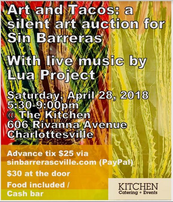 April 28- Art and Tacos: A Silent Art Auction for Sin Barreras