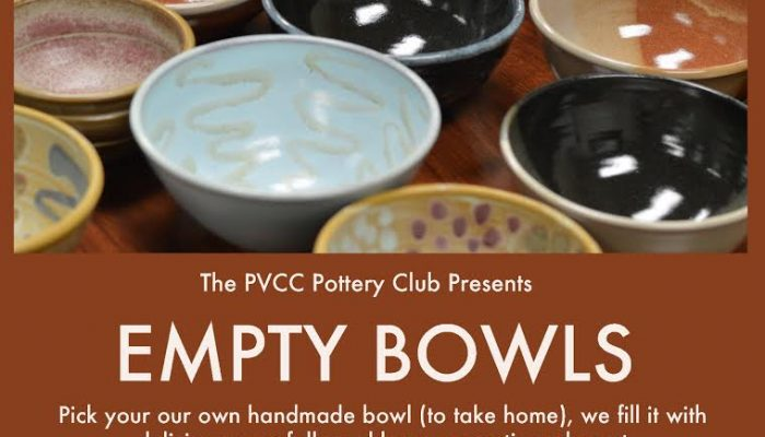 PVCC Pottery Club Presents: Empty Bowls